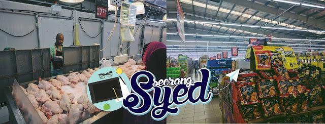Berbelanja di Tunas Manja