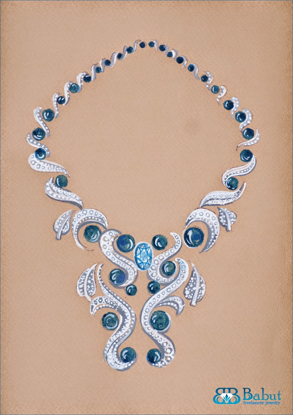 Sketch Jewelry - Babut Florin - Valentin: sketches design ...
