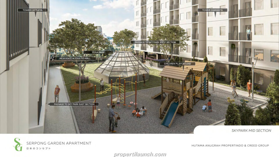 Children Playground Apartment Serpong Garden