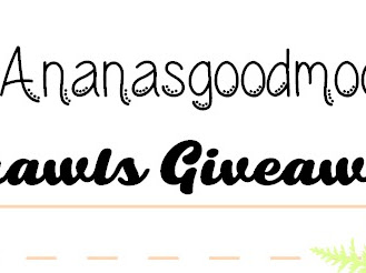 #Ananasgoodmood Shawls Giveaway
