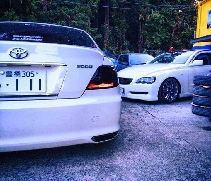 Modified Cars: Modified Toyota Mark X Slammed