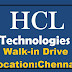 HCL Walk-in Drive Recruitment Executive Post @ Chennai - Apply Now