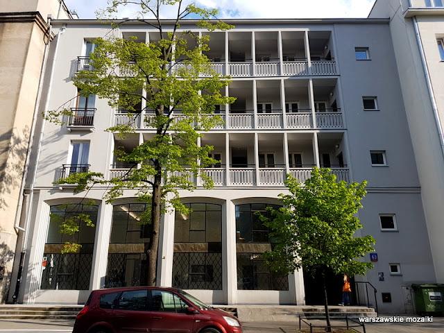 Warszawa Warsaw kamienica powojenna raster Orno architektura Śródmieście
