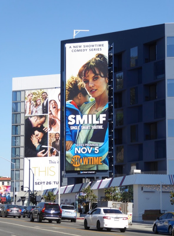 SMILF season 1 billboard