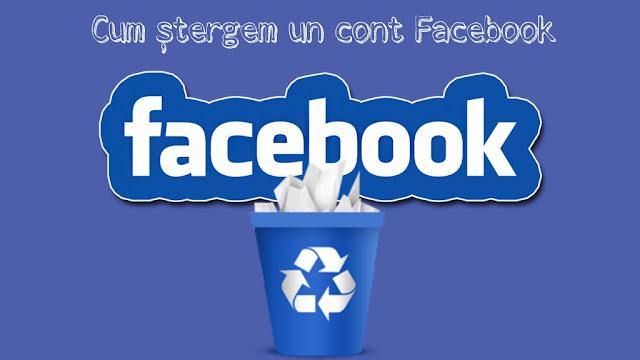 Cum se șterge definitiv și cum se dezactivează temporar un cont Facebook
