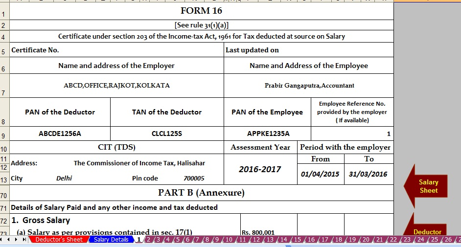 Income Tax Forms Income Tax Forms Excel Download