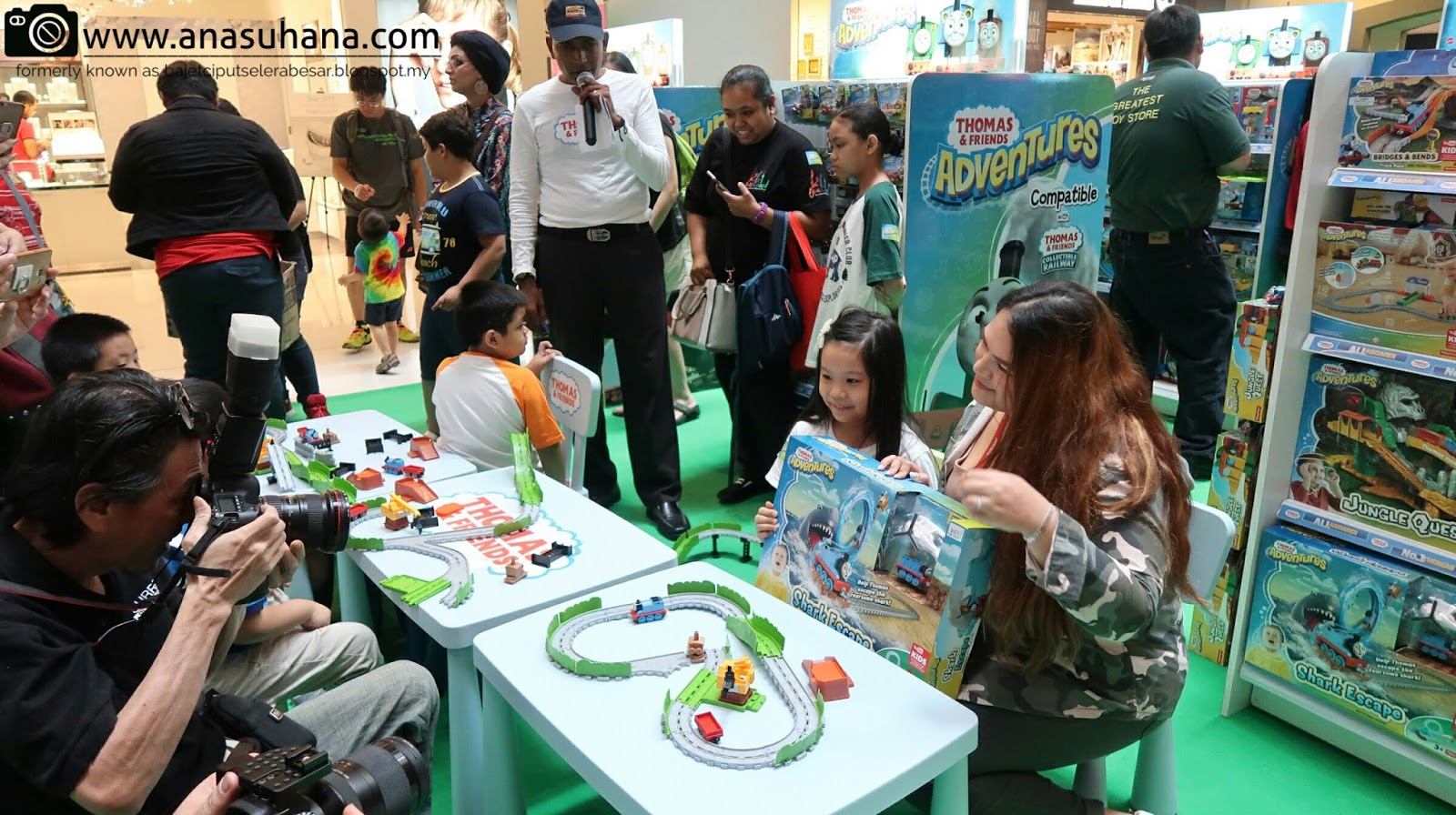 Jom Sertai Thomas & Friends Adventures di Sunway Putra Mall