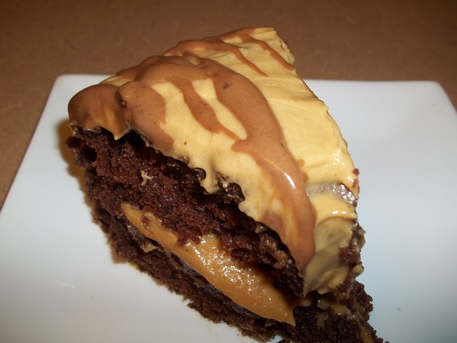 Facebook Chocolate Mayonnaise Cake With Peanut Butter Frosting