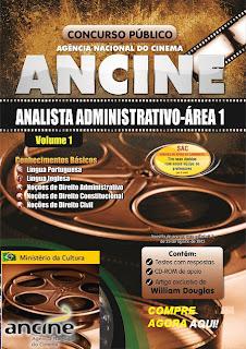 Apostila concurso Agência Nacional do Cinema
