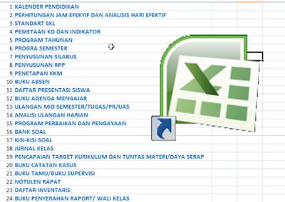 Download 24 Berkas Administrasi Guru Terlengkap