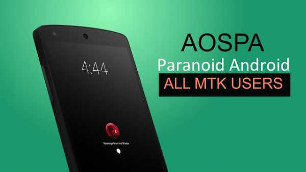 [MT6592][6.0.1] [STABLE] AOSPA Paranoid ROM For HTC Desire 816G
