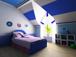 dormitorio niño tema marinero