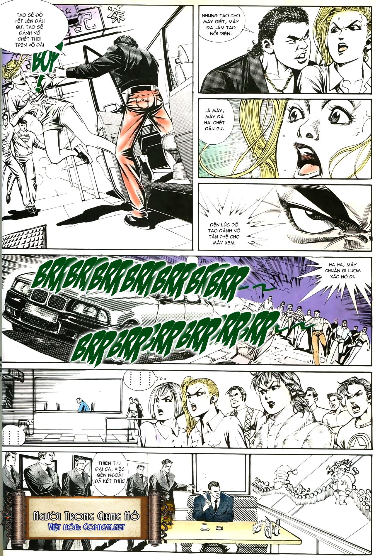 Người Trong Giang Hồ chapter 193: mưu kế đầy bụng trang 31