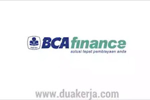 Lowongan Kerja BCA Finance Terbaru 2019