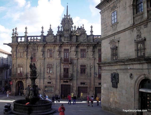 Construções medievais em Santiago de Compostela
