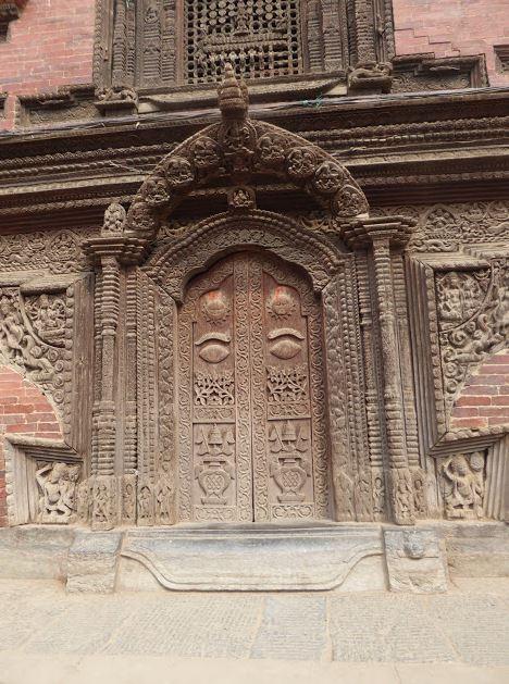 porta di Bhairab a Patan