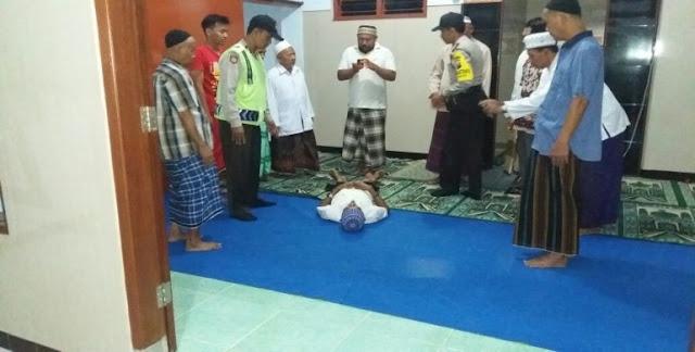 Usai Melaksanakan Shalat Isya, Imam Masjid Ini Menghembuskan Nafas Terahir
