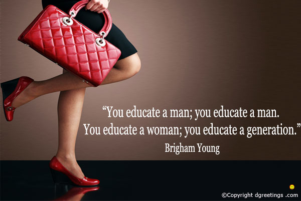 Educate a Woman