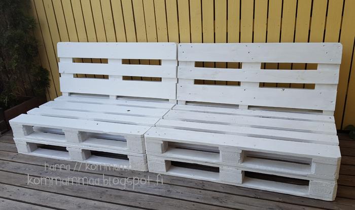 eurolava kuormalava sohva pihakaluste diy kierrätys