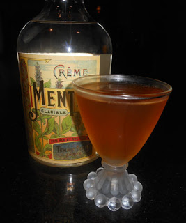 tempus fugit creme de menthe cocktail recipe