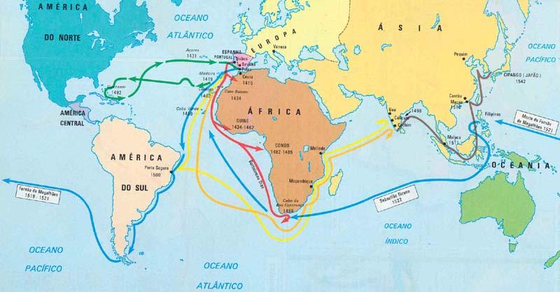 Descobrimento da América e a Expansão Marítima