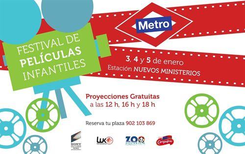 Festival de Películas Infantiles de Metro en Nuevos Ministerios