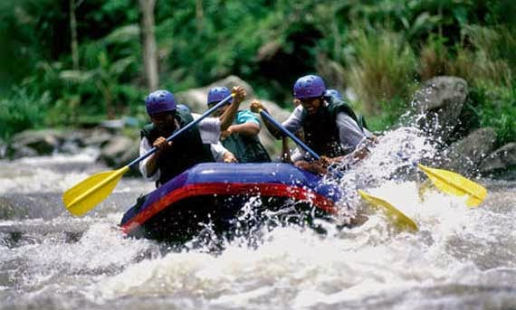 Tempat Rafting di Bali