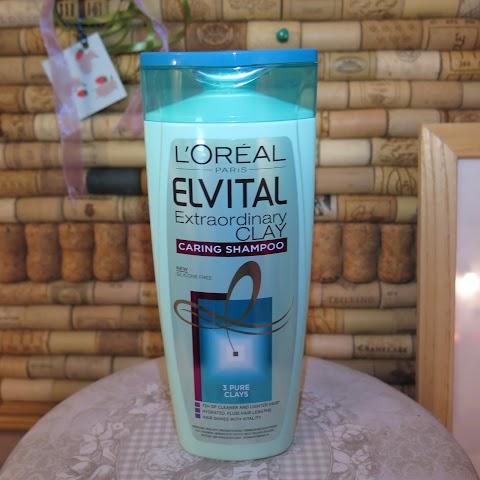L`oreal elvital extraordinary clay šampūnas riebiems plaukams*