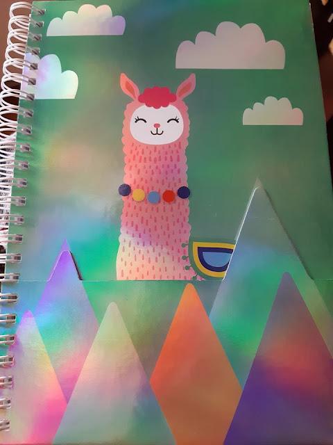 Dollarama cahier notes Lama
