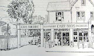 1926 advertisement for Carr's Garage, Purley High Street, Croydon.