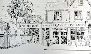 1926 advertisement for Carr's Garage, Purley High Street, Croydon.