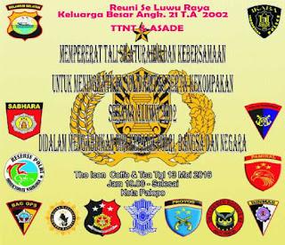 Jumat Diharap Hadir, Angkatan 21 Dikmada Polri se Luwu Raya Reuni di Palopo