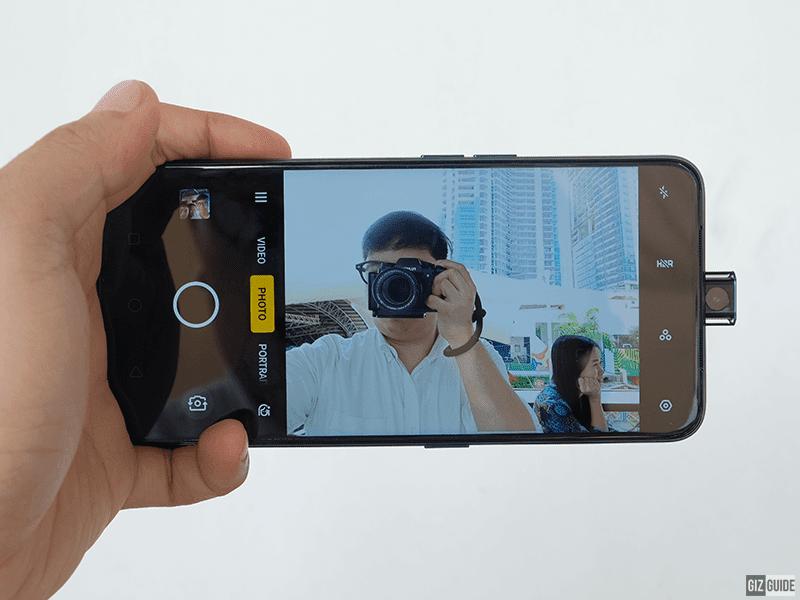 16MP pop-up camera mode