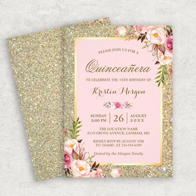 15th birthday invitations mimoprints