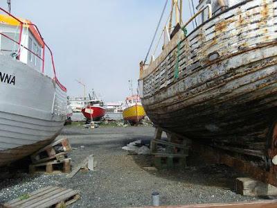 Vecchio porto Reykjavik