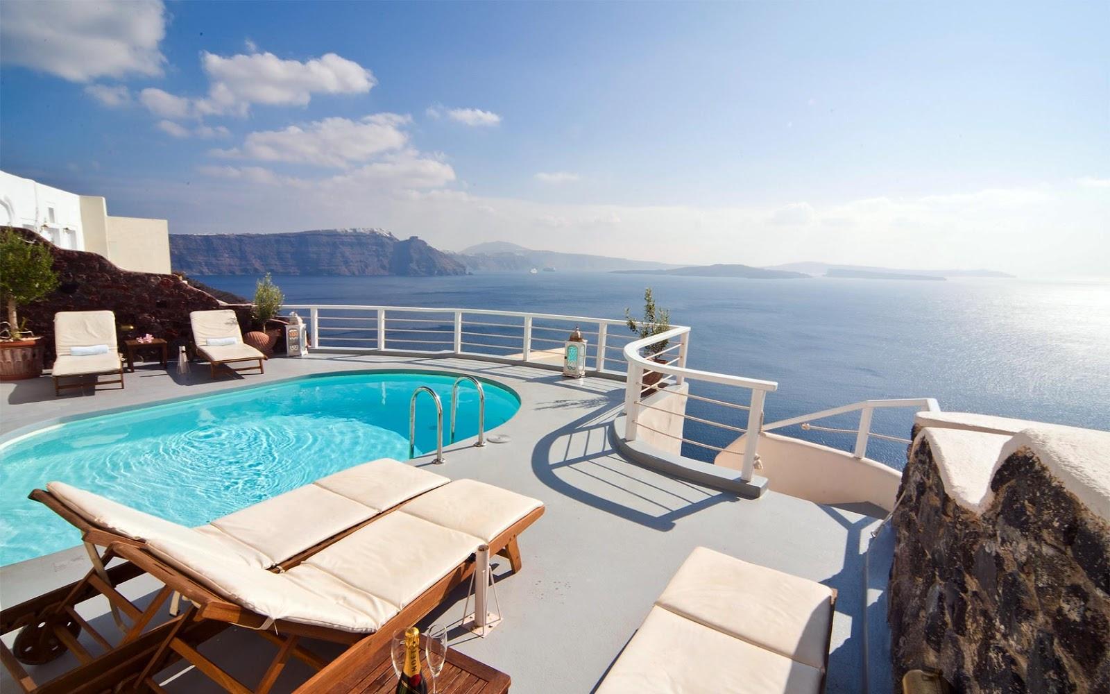 Oia santorini hotels for Hotels santorin