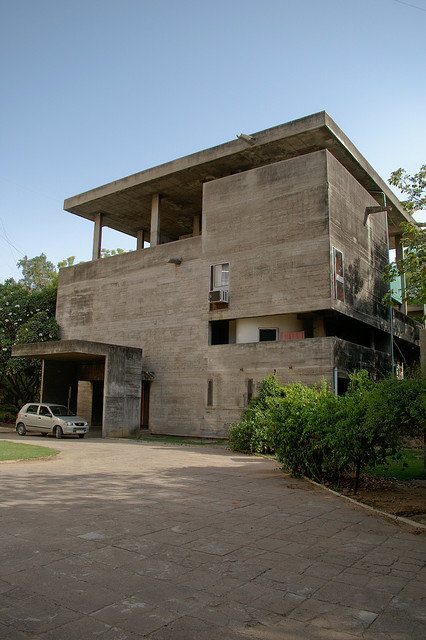 Casa Shodan De Le Corbusier 1956 India Arquitectura Y