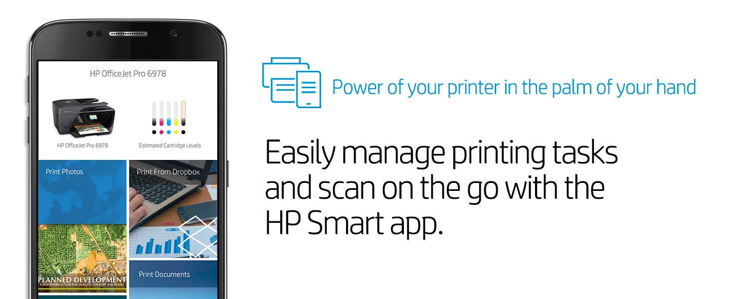 HP Office Jet Pro 6978 Affordable Color powerful productivity