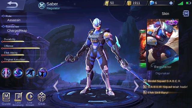 Cheat Skin Legend 100% Bisa Digunakan di Ranked Mobile Legends 2