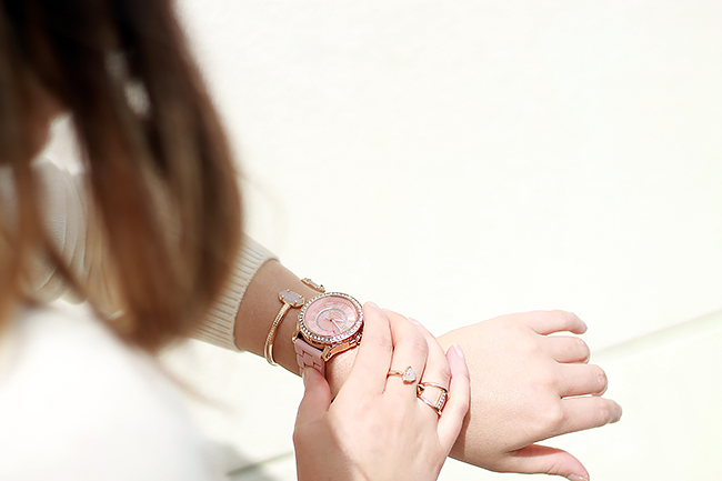 Pink Juicy Couture Watch | A Good Hue