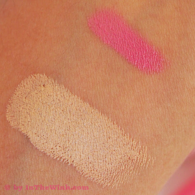 """Mistura Beauty Solutions C-2-P Complexion Corrector and Jing Ai Velvet Shine Lip Jewel in """"Pink A Boo"""""""