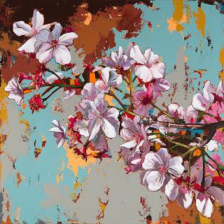 cuadros-de-flores-motivos-clásicos-combinados-con-arte-pop flores-pinturas-modernas