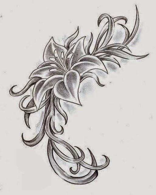 Beautiful Sketching Flowers
