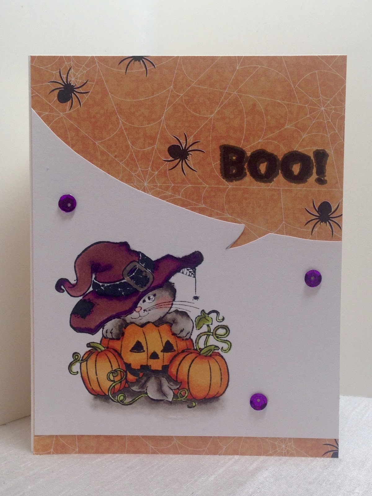 amy's creative pursuits: halloween cards