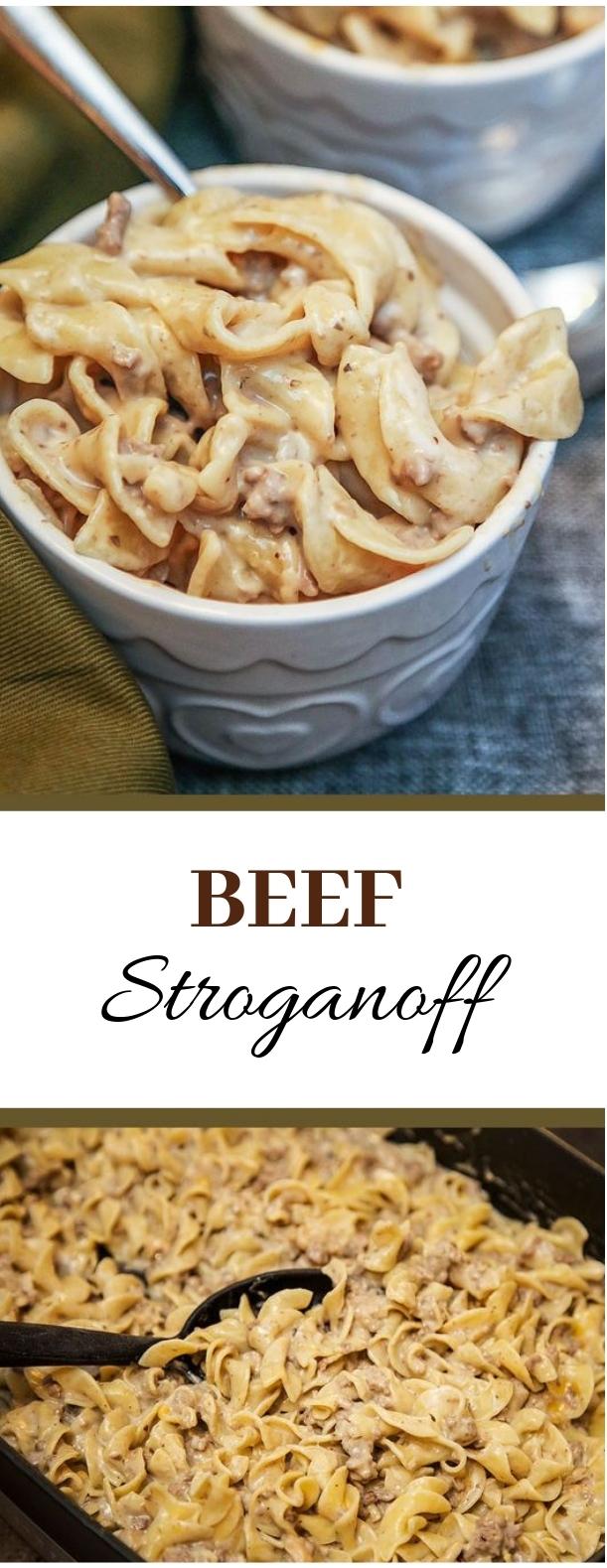 Beef Stroganoff #beef #pasta