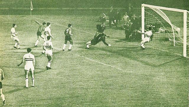 Chile y Hungría en partido amistoso, 13 de diciembre de 1967