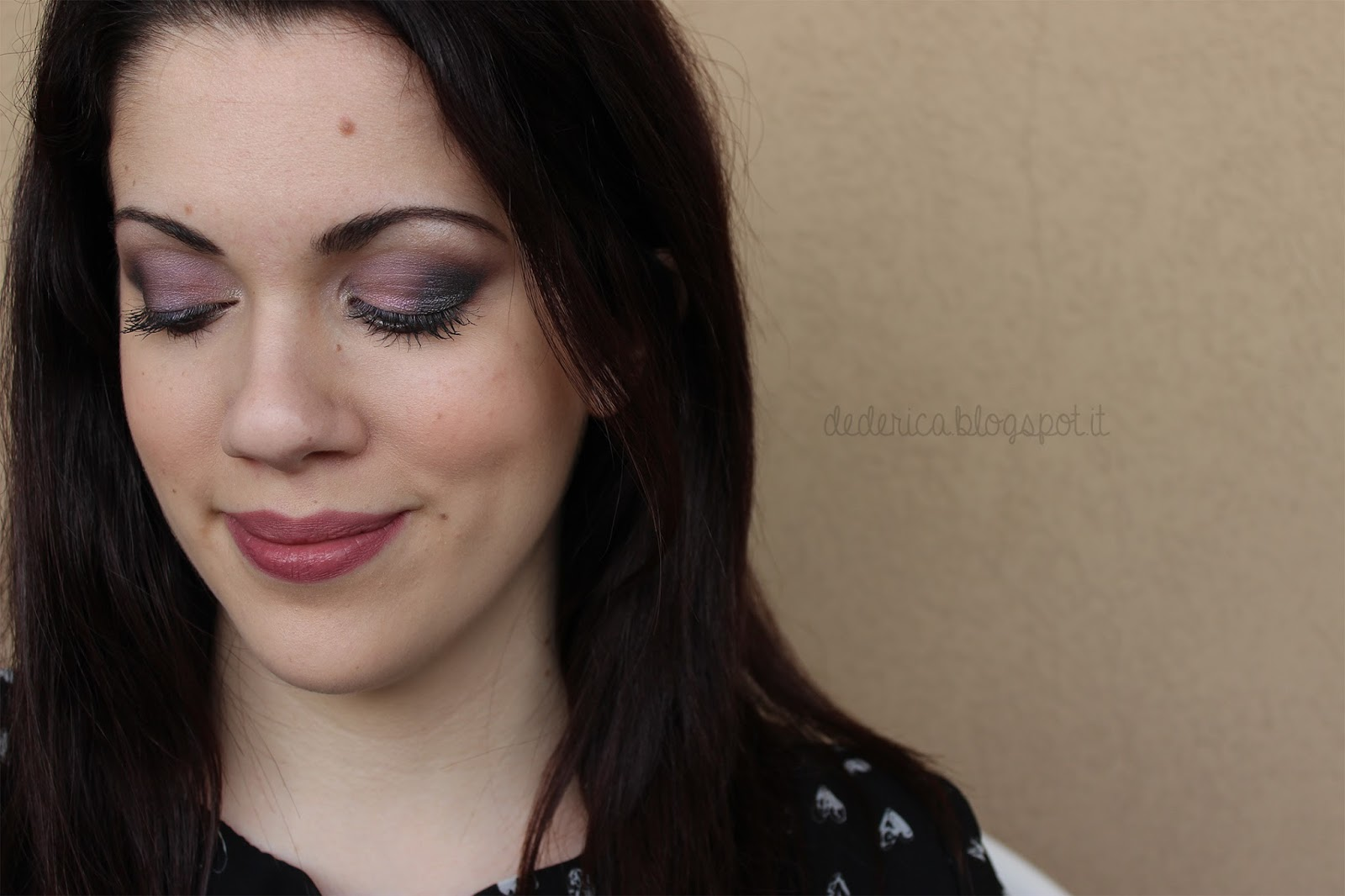 Duochrome Lavender Make-up Tutorial 3