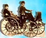 Gottlieb Daimler irst mobil roda empat