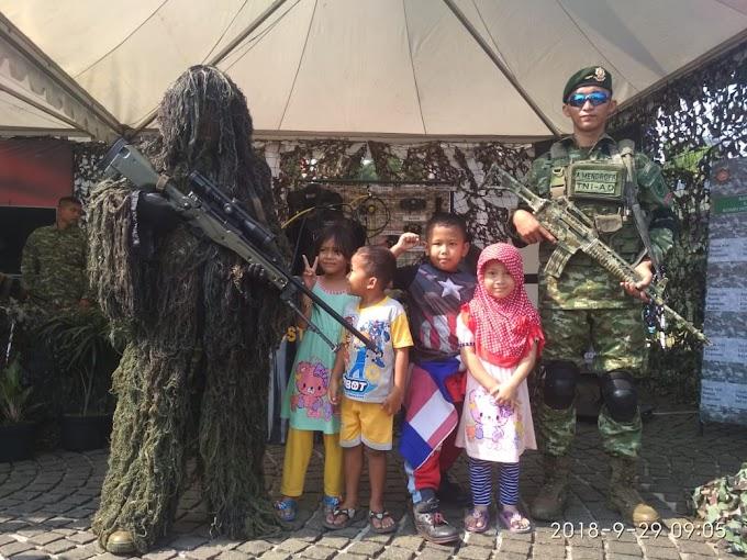 Pameran Senjata (Alutsista) dari TNI dan Polri 2018 di silang Monas [Mantap]