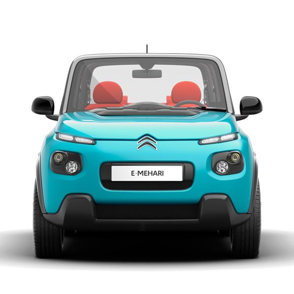 Gamma motori Citroen E-Mehari:con motore elettrico. Caratteristiche e consumi
